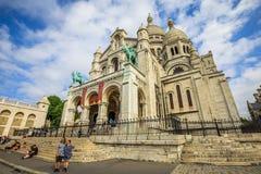 Basilica sacra del cuore Fotografie Stock Libere da Diritti