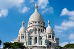 Basilica sacra del cuore di Montmartre Fotografia Stock Libera da Diritti
