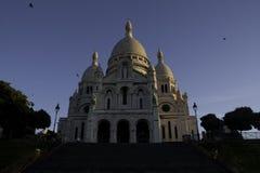 Basilica of the Sacre Ceur royalty free stock photo