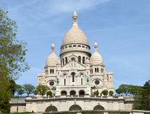 Basilica Sacre Coeur. Monmartre, Paris Stock Photo