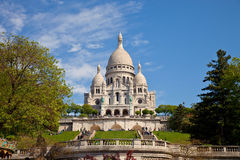 Basilica Sacre-Coeur Royalty Free Stock Photography