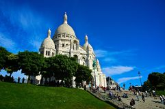 Basilica of Sacre Coeur Royalty Free Stock Images