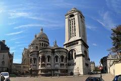 Basilica Sacre-Coeur Stock Images