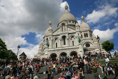Basilica of Sacre Coeur Royalty Free Stock Photo