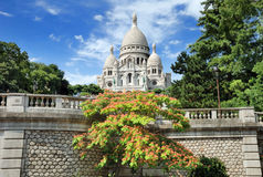 Basilica Sacre Coeur. Royalty Free Stock Photos