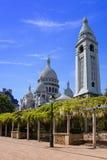 Basilica Sacre-Coeur Royalty Free Stock Photos