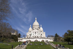 Basilica of Sacre Coeur Stock Images