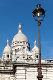 The Basilica of Sacre-Coeur, Montmartre. Paris Royalty Free Stock Photo