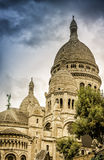 The Basilica of Sacre Coeur in Montmartre Royalty Free Stock Photography