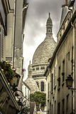 The Basilica of Sacre Coeur in Montmartre Royalty Free Stock Images