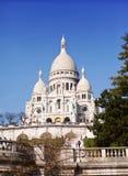 Basilica of Sacre-Coeur, Montmartre. Paris Royalty Free Stock Photos