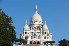 Basilica of the Sacre Coeur on Montmartre, Paris Royalty Free Stock Photography