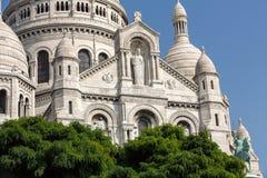 Basilica of the Sacre Coeur on Montmartre, Paris Stock Photo