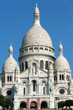Basilica of the Sacre Coeur on Montmartre, Paris Stock Photos