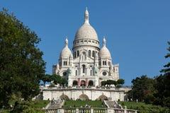 Basilica of the Sacre Coeur on Montmartre, Paris Stock Image
