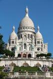 Basilica of the Sacre Coeur on Montmartre, Paris, Stock Image