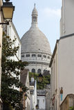 Basilica of the Sacre Coeur on Montmartre, Paris,. France Royalty Free Stock Images