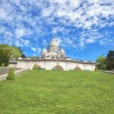 Basilica of Sacre-Coeur in Montmartre, Paris Stock Photo