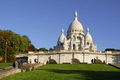 Basilica Sacré-Coeur Paris Royalty Free Stock Image