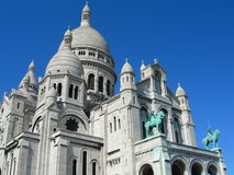 Basilica Sacre Coeur, Paris, France Royalty Free Stock Images