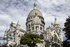 The Basilica Sacre-Coeur. Paris. France. Stock Photography
