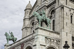 The Basilica Sacre-Coeur. Paris. France. Royalty Free Stock Photo