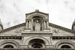 The Basilica Sacre-Coeur. Paris. France. Royalty Free Stock Photos