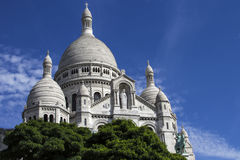 The Basilica Sacre-Coeur. Paris. France. Royalty Free Stock Images