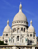 Basilica Sacre Coeur (Sacred Heart) Montmartre in Paris Stock Images