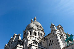 Basilica of the Sacre Couer Stock Photography