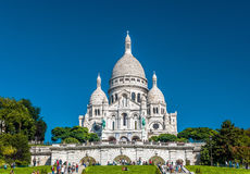 Basilica of Sacred Heart (Basilique du Sacre-Coeur), Paris Stock Photos