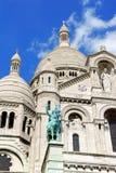 Basilica of the Sacred Heart (Basilique du Sacre-Coeur), Paris, Stock Photo