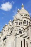 Basilica of the Sacred Heart (Basilique du Sacre-Coeur), Paris, Stock Images