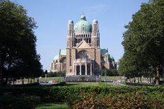 Basilica of the Sacred Heart, Brussels Stock Photography