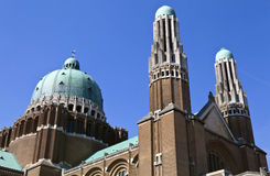 Basilica of the Sacred Heart in Brussels Royalty Free Stock Photography