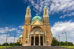 Basilica of the Sacred Heart - Brussels Stock Photo