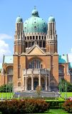 Basilica of the Sacred Heart in Brussels Stock Photos