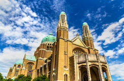 Basilica of the Sacred Heart - Brussels Stock Image