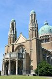 Basilica of the Sacred Heart, Brussels Stock Image