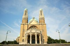 Basilica of the Sacred Heart, Brussels Stock Photos
