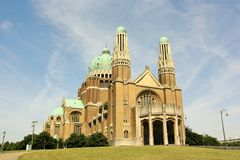 Basilica of the Sacred Heart, Brussels Royalty Free Stock Image
