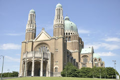 Basilica of the Sacred Heart, Brussels Stock Photo