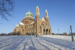Basilica of the Sacred Heart, Brussels Royalty Free Stock Photography