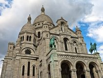 Basilica of Sacred Heart of Jesus, Paris Stock Photo