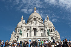 Basilica of the Sacred Heart of Jesus of Paris Royalty Free Stock Photography