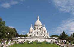 Basilica of the Sacred Heart of Jesus of Paris Stock Photography