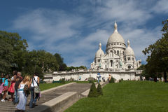 Basilica of the Sacred Heart of Jesus of Paris Royalty Free Stock Photos