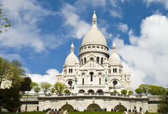 Basilica of the Sacred Heart of Jesus, Paris Stock Photo