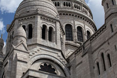 The Basilica of the Sacred Heart of Jesus,Paris Stock Photo