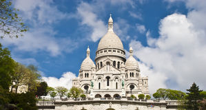 Basilica of Sacred Heart of Jesus, Paris, France Royalty Free Stock Photo
